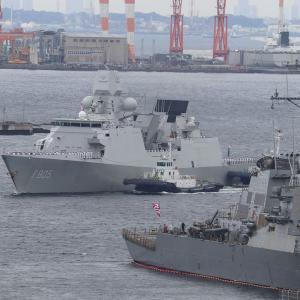 オランダ海軍フリゲイト「エヴェルトセン」、横須賀寄港
