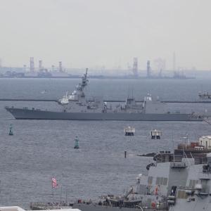 護衛艦「てるづき」、横須賀入港