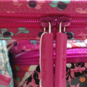 Vera Bradley Travel Cosmetic M Medley