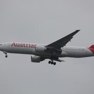 9月中旬その2③(オーストリア航空のB777-200ER)