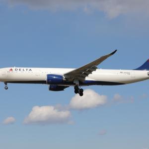 3月下旬その2⑦(デルタ航空のA330-900)