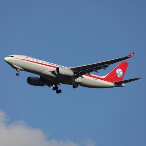 3月下旬その2⑮(四川航空のA330-200F)