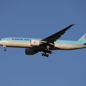 3月下旬その2⑯(大韓航空のB777-200F)