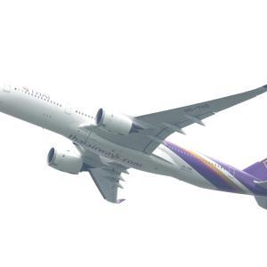 6月その2④(タイ国際航空のA350-900)