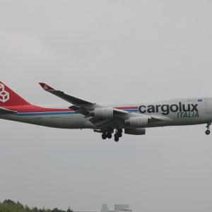 6月その2⑤(カーゴルクス・イタリアのB747-400F)