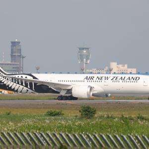6月その2⑫(ニュージーランド航空のB787-9)