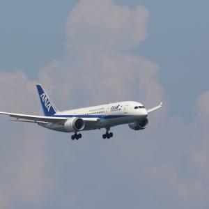 8月初旬④(ANAのB787-8 ~ デルタ航空のA350-900)