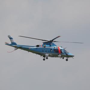 8月初旬その2③(警視庁のAgusta A109)