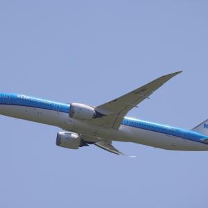 6月上旬②(KLMオランダ航空のB787-9)