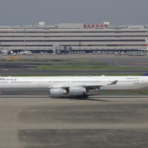 5月下旬②(ルフトハンザ・ドイツ航空のA340-600)
