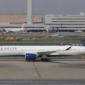 5月下旬⑤(デルタ航空のA350-900)