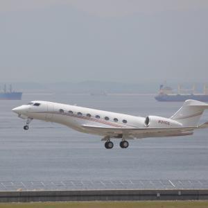 6月初旬その1⑧(ユタ銀行のGulfstream Aerospace G650)