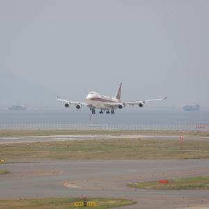 6月初旬その1⑨(カリッタエアのB747-400F)