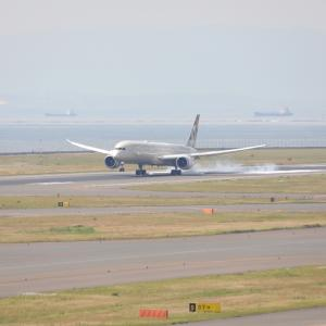 6月初旬その1⑫(エティハド航空のB787-10)