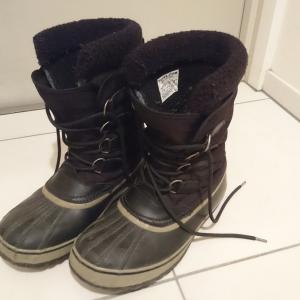 寒さ対策は足元から!ソレルのスノーブーツで冬キャンプを暖かく