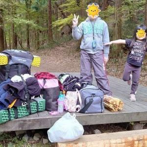 【初めてのキャンプ】娘がキャンプデビューしました