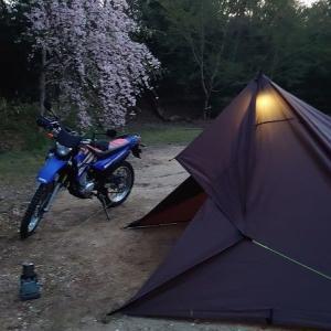 【XTZ125】初めてのキャンプツーリングに行ってきました。パッキング内容も紹介します。