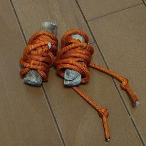 【ブッシュクラフト】枯れ枝で作るロープテンションシステム
