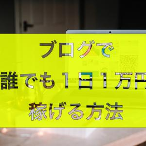 【ブログ歴1年】1日で1万円の収益達成!2日間でpv数が11万達成!パート2