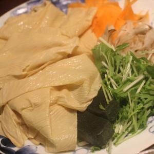 【岡山ランチ】梅の花の湯葉料理を堪能。一番のお気に入りは茶碗蒸し(^-^)