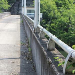 ダムめぐり「日笠ダム(ひかさ)/岡山県」1983年製重力式コンクリート式ダム。大自然を満喫出来る立地