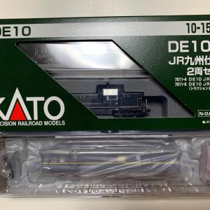 KATO DE10 JR九州仕様とマイクロエース マヤ34-2009