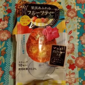 DAY7✨二日目✨日東紅茶 果実あふれる フルーツティー 飲んでみたw