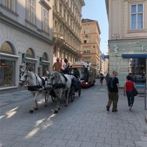 2018 ウィーン2日目 ヨハン・シュトラウス像を見に行こう