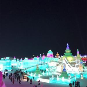 爽やかハルビン極寒旅行 氷祭り&室内スキー&春秋航空とハルビン太平国際空港 1日目