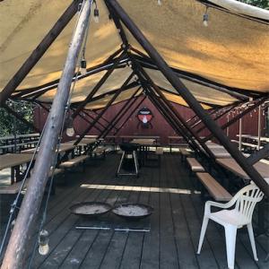 爽やか北海道2020 森の中に佇むコテージ&グランピング 中札内フェーリエンドルフ in 帯広