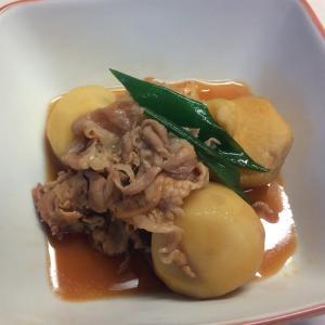 里芋の肉煮