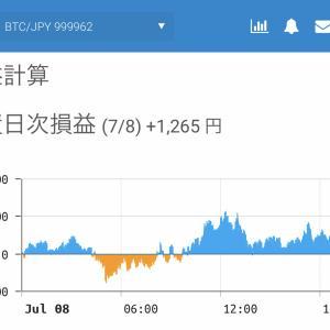 7月7日〜7月9日  +85,164円 タクヤのオレ的自動売買速報☆