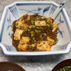 353 大豆ミートで肉増しの麻婆豆腐