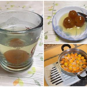 542 金柑(キンカン)の甘露煮