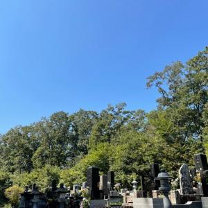 お墓まいりに行ってきましたよ