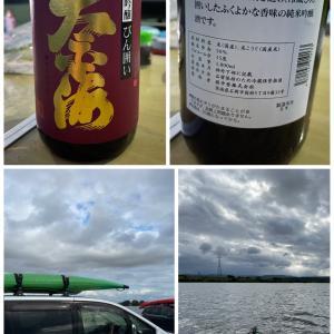 久しぶりのカヤック&キャンプ&お酒