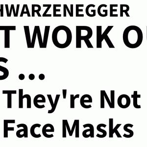 アーノルドシュワルツネッガー曰く,「ゴールドジムではトレーニングしないだろう」