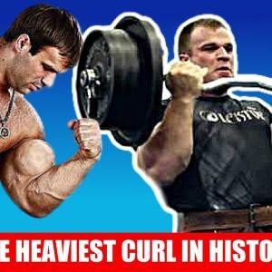 ストリクトのEZバーカールで113kgを上げる男!Denis Cyplenkovとは