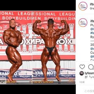 Hunter Labrada,プロデビュー戦のタンパプロで優勝!