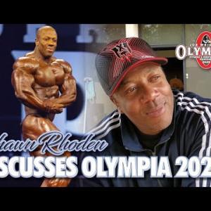 ショーンローデン,オリンピア 2020に不出場を正式に表明
