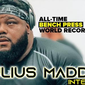 Julius Maddox,800lbsベンチプレス挑戦日程決定