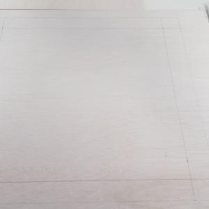 【Mini-Z】自作塗装ブースの製作作業 ~天板の穴あけ&換気扇ビス止め~