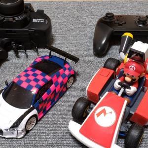 【Mini-Z】マリオカートホームライブサーキット  と京商ミニッツレーサーを比較してみた!