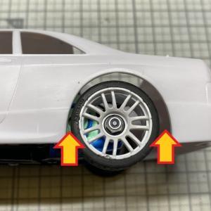 rintaroさんの20th記念シャシー&R33 GT-R ニスモがおかしい?皆さんのリアホイールアーチのクリアランス大丈夫ですか?