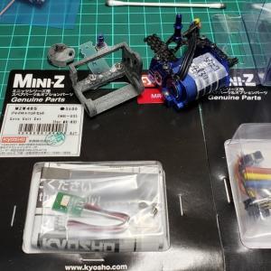 ミニッツMR-03ライフに最高の幸福感をもたらそう! ~故障対策にスペア品を準備しておく~