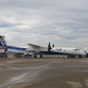 ANA442便(福岡〜中部)搭乗記  〜プロペラ機の乗り心地は?〜