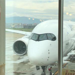 JALのA350の羽田発就航2便目(JAL329便)搭乗記