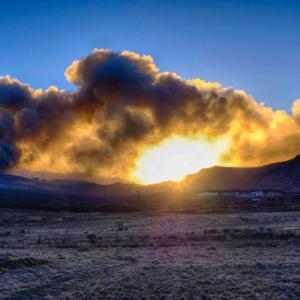 西之島で噴火か!?