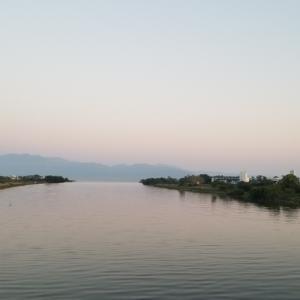 琵琶湖の北湖を一周してきました(^-^)/