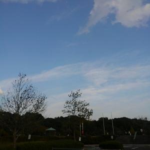 緑の丘 夕空マラソン速報